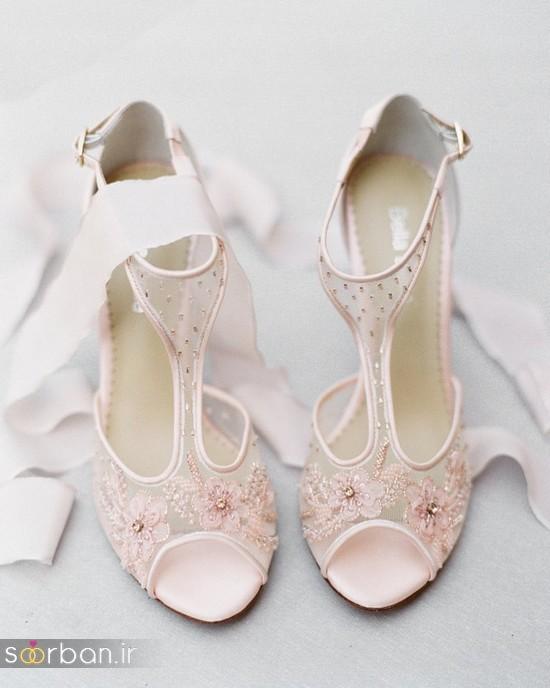 کفش عروس شیک و جدید-16