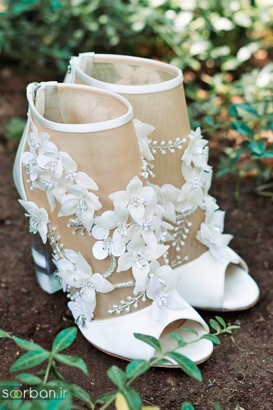 کفش عروس شیک و جدید-20