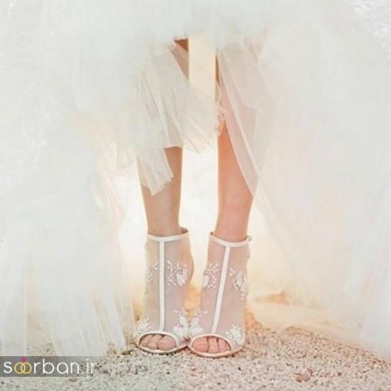 کفش عروس شیک و جدید-27