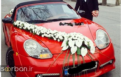 تزیین ماشین عروس 97-18