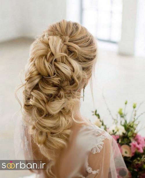 مدل مو عروس برای مو بلند12