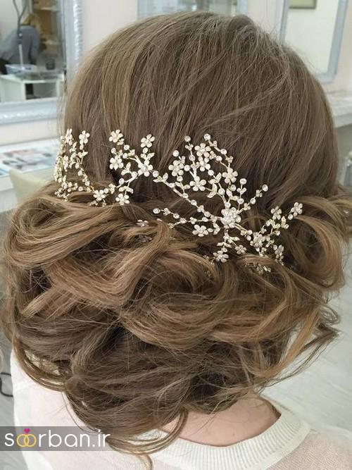 مدل مو عروس برای مو بلند18