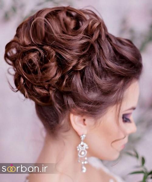 مدل مو عروس برای مو بلند19