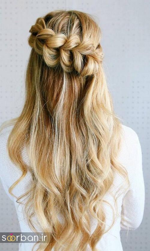 مدل مو عروس برای مو بلند22