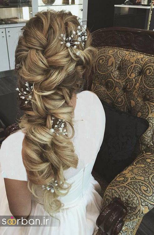مدل مو عروس برای مو بلند24