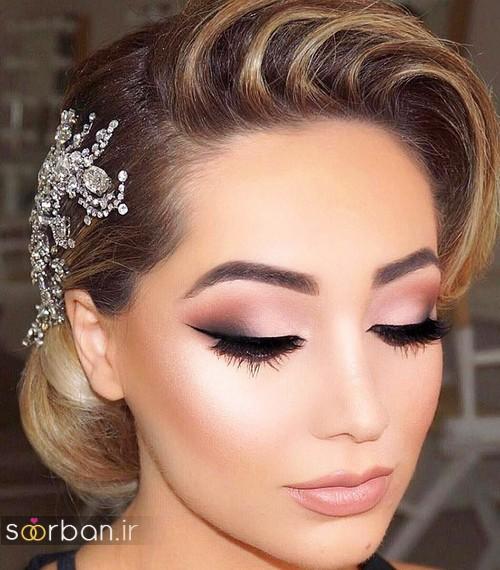 مدل های آرایش عروس, مدل آرایش عروس 2017, آرایش عروس 2017, مدل های زیبا و جدید آرایش عروس 2017