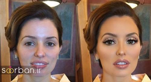 مدل آرایش عروس به سبک اروپایی 2017 شیک و زیبا