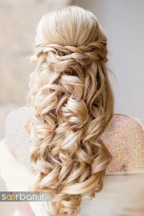 مدل مو باز عروس1