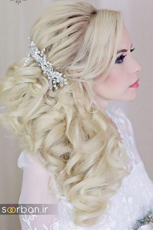 مدل مو باز عروس6