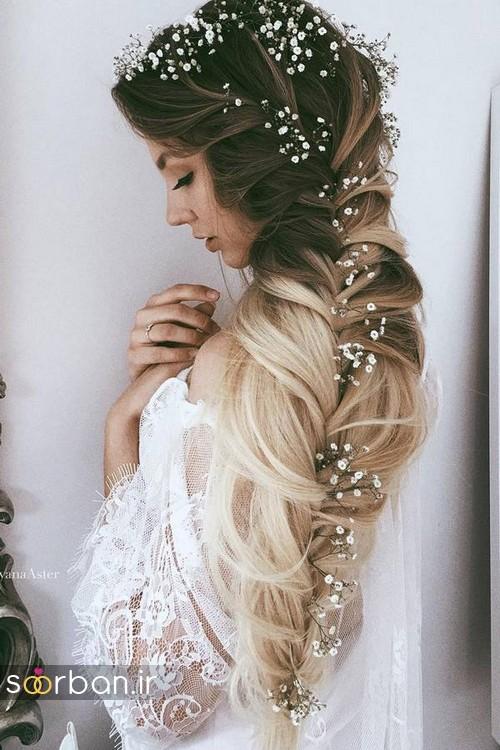 مدل مو باز عروس15