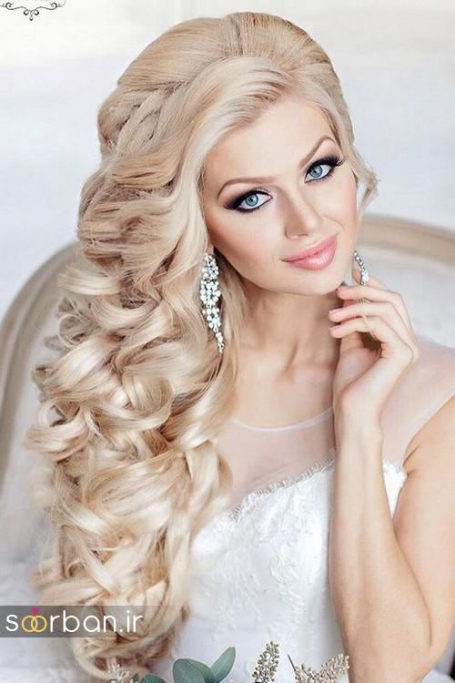 مدل مو باز عروس20