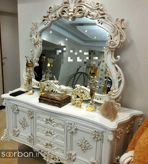 آینه کنسول جهیزیه عروس جدید6