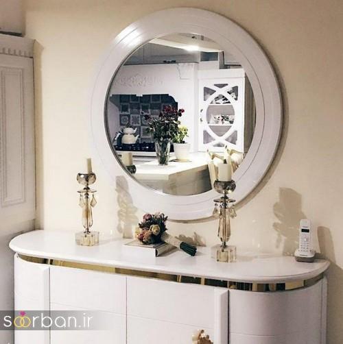آینه کنسول جهیزیه عروس شیک4