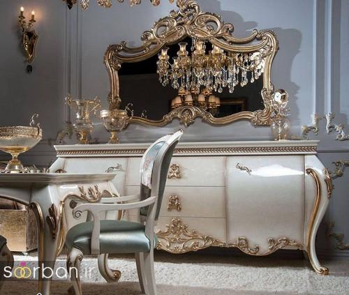 آینه کنسول جهیزیه عروس شیک9