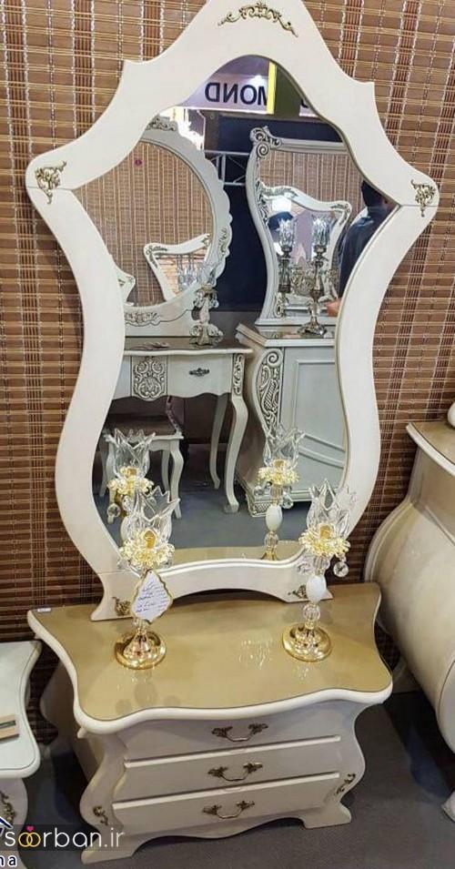 آینه کنسول جهیزیه عروس شیک11