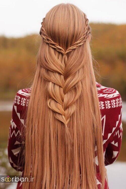 مدل بافت مو دخترانه مجلسی و نامزدی جدید11
