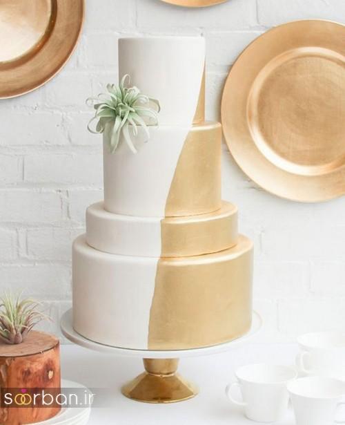 کیک عروسی خاص و درخشان2