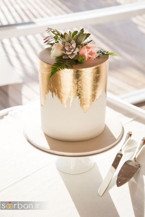 کیک عروسی خاص و درخشان04