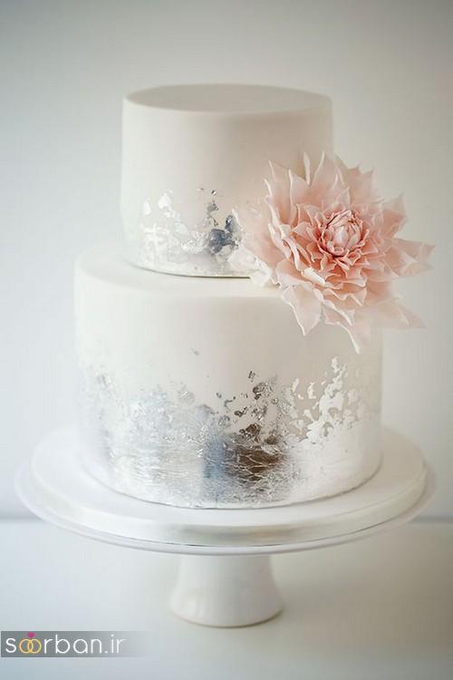 کیک عروسی خاص و درخشان8