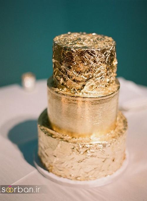 کیک عروسی خاص و درخشان09