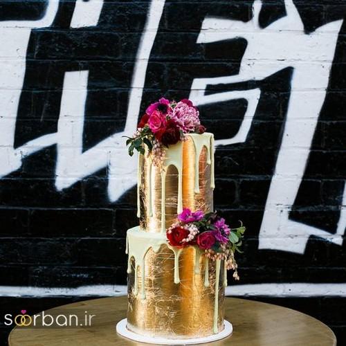 کیک عروسی خاص و درخشان12
