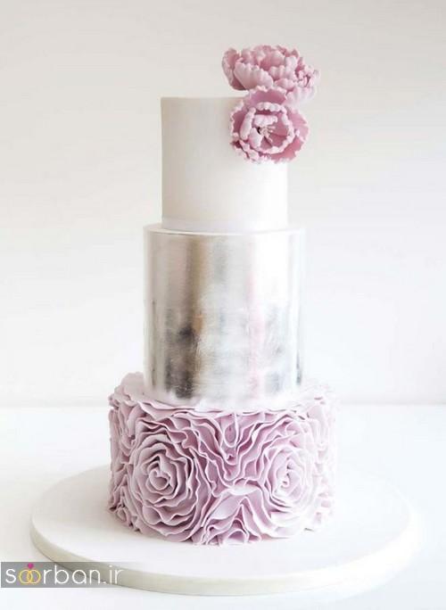 کیک عروسی خاص و درخشان17
