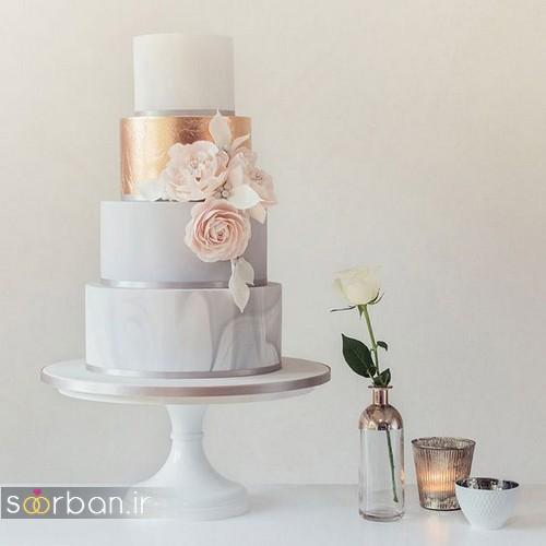 کیک عروسی خاص و درخشان19