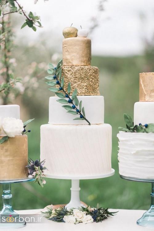 کیک عروسی خاص و درخشان23