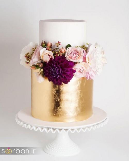 کیک عروسی خاص و درخشان24