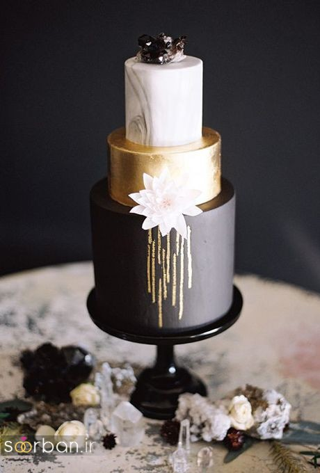 کیک عروسی خاص و درخشان25