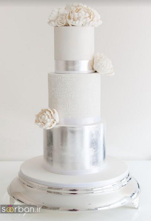 کیک عروسی خاص و درخشان27