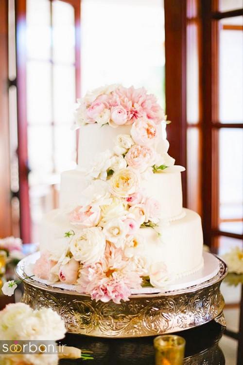 محبوبترین کیک های عروسی1