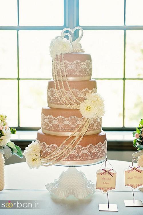 محبوبترین کیک های عروسی3