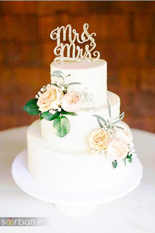 محبوبترین کیک های عروسی6