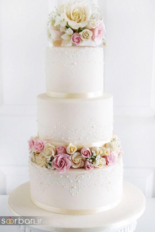محبوبترین کیک های عروسی15