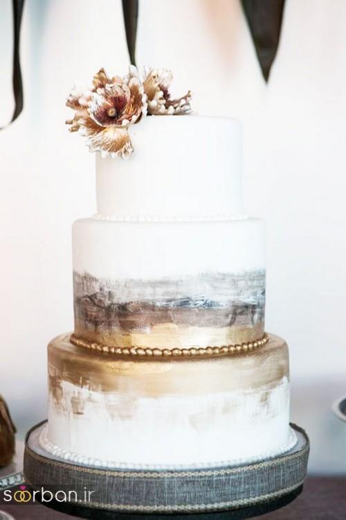 محبوبترین کیک های عروسی17