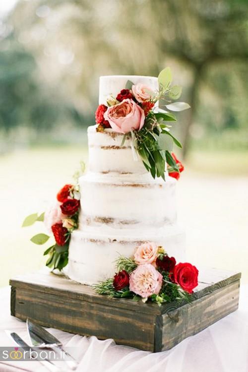 محبوبترین کیک های عروسی0