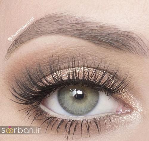 آرایش چشم عروس جدید  شیک 4