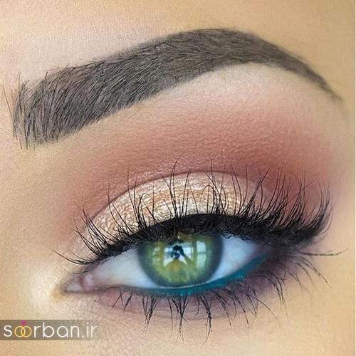 آرایش چشم عروس جدید  شیک 5