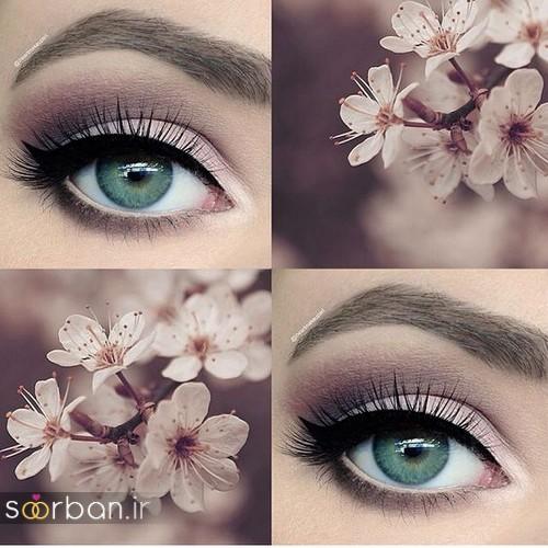 آرایش چشم عروس جدید  شیک 6