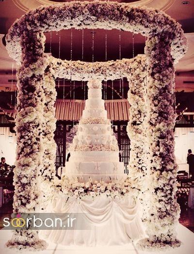 باشکوه ترین و لوکس ترین کیک های عروسی1