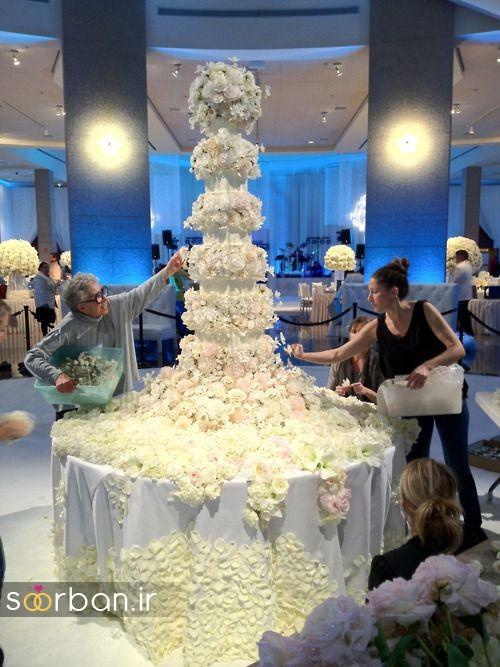 باشکوه ترین و لوکس ترین کیک های عروسی 2