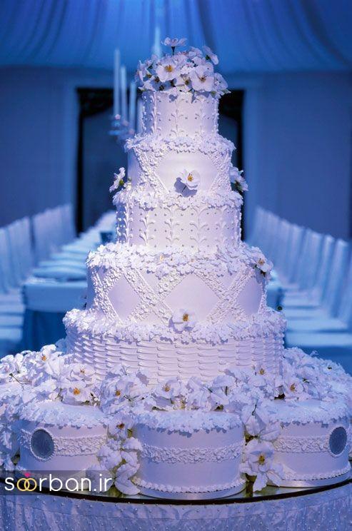 باشکوه ترین و لوکس ترین کیک های عروسی 6