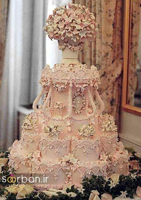 باشکوه ترین و لوکس ترین کیک های عروسی 7