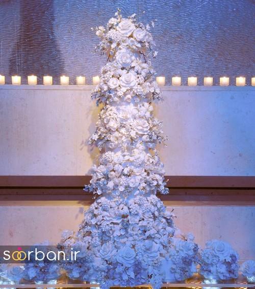 باشکوه ترین و لوکس ترین کیک های عروسی 19