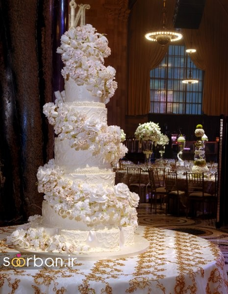 باشکوه ترین و لوکس ترین کیک های عروسی 20
