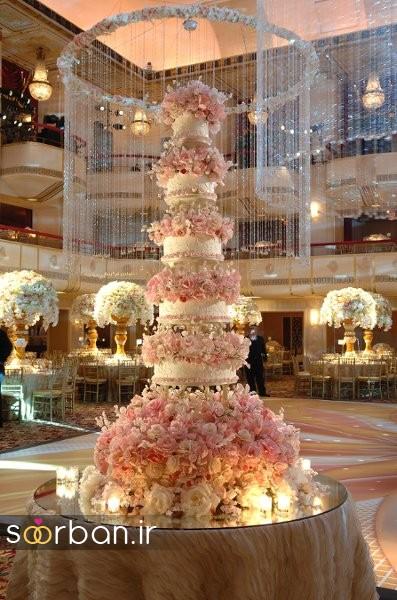 باشکوه ترین و لوکس ترین کیک های عروسی 22