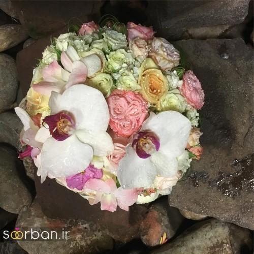 دسته گل عروس جدید ایرانی 96 بسیار زیبا
