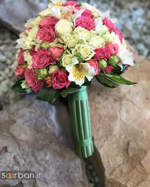 دسته گل عروس جدید ایرانی 96 - 2017