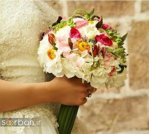 عکس دسته گل عروسی ایرانی خاص